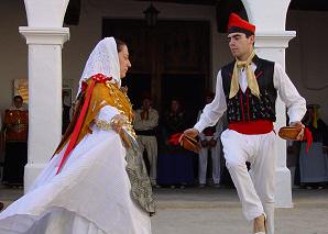 Folk dances in Sant Miquel