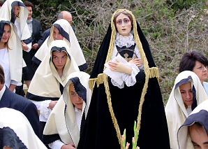 Scenes from the Passion in Sant Miquel