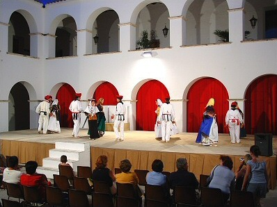 Folk dances in the Ibiza Town Hall