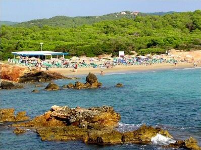 Cala Nova Beaches Santa Eulria Pictures Ibiza EivissaWeb